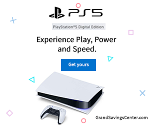 Act now! Get the new Sony PlayStation 5!