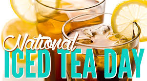Happy Iced Tea Day from Pumpkins Freebies
