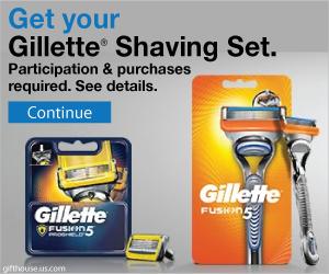 Gillette Shaving Kit