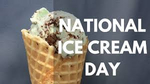 Happy Ice Cream Day from Pumpkins Freebies - Third Sunday in July