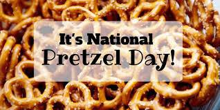 Happy National Pretzel Day from Pumpkins Freebies