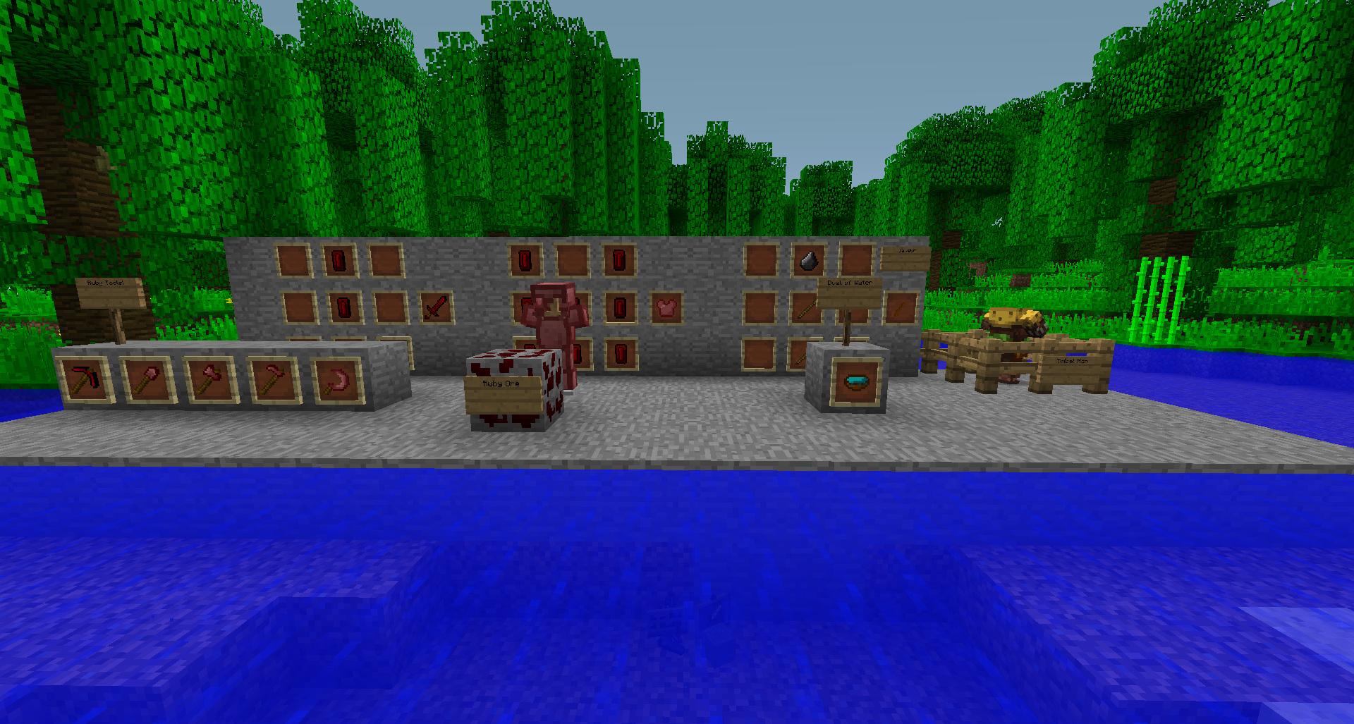 Current stuff in Minecraft+